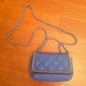 Steve Madden Quilted Chain Strap Crossbody Purse